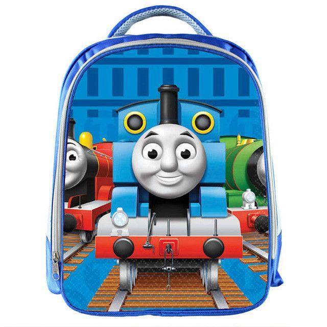 Pokemon/ Thomas/ Super Wings Blue School Bag 3D backpack Children
