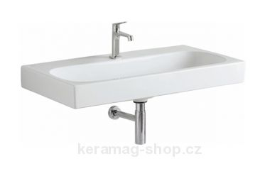Citterio umyvadlo 90 x 50 cm, bílé - Keramag-shop.cz
