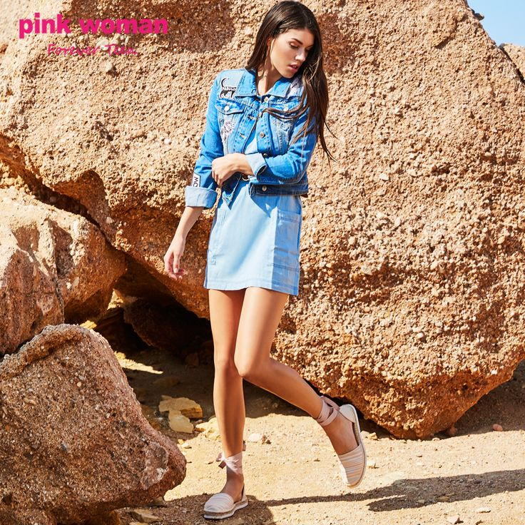 Denim is always a good idea ! Shop online at https://www.pinkwoman-fashion.com/el-gr/