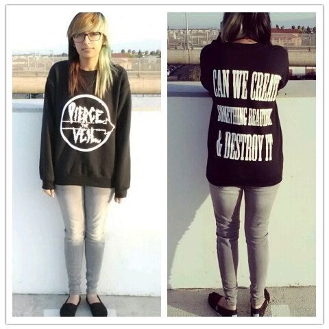 Pierce The Veil Crewneck by Swetasstyle on Etsy, $30.00 I need this