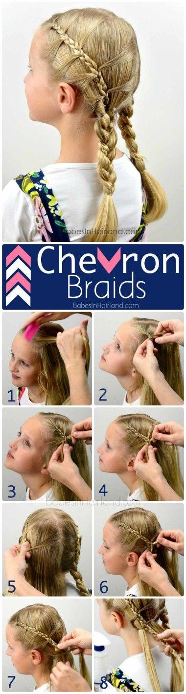 Chevron Braids from BabesInHairland.com #braids #chevron #hair #hairstyle #littlegirlhair