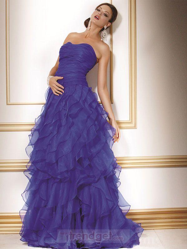 Mejores 91 imágenes de Dresses en Pinterest | Moda de la fiesta ...