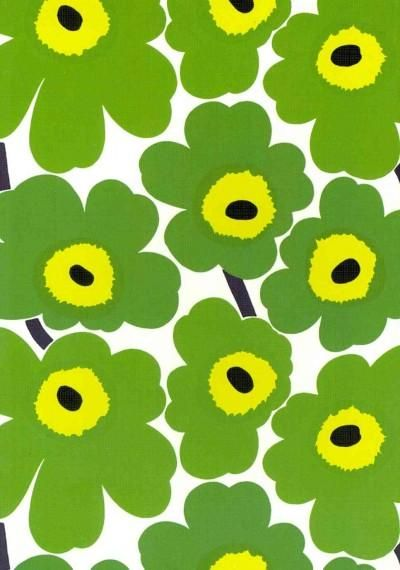 The pattern that made Marimekko famous worldwide graces the cover of this covetable journal.