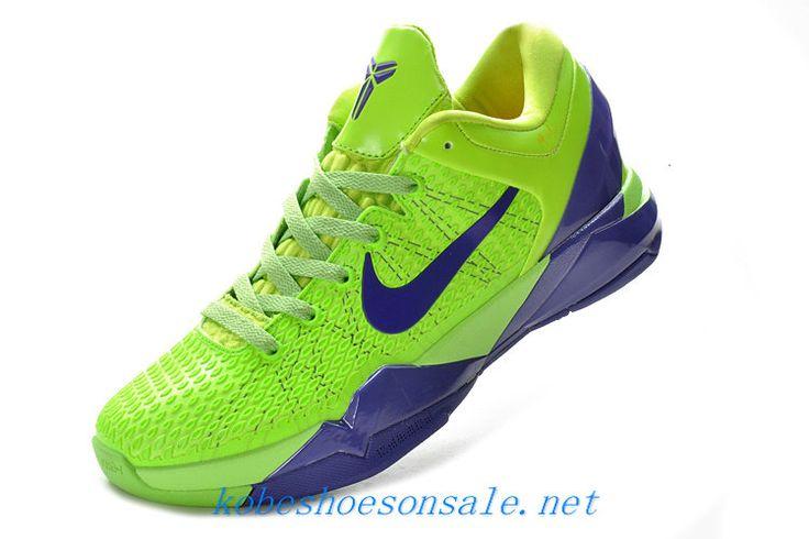 nike zoom kobe 7 elite grinch fluorescent green club purple