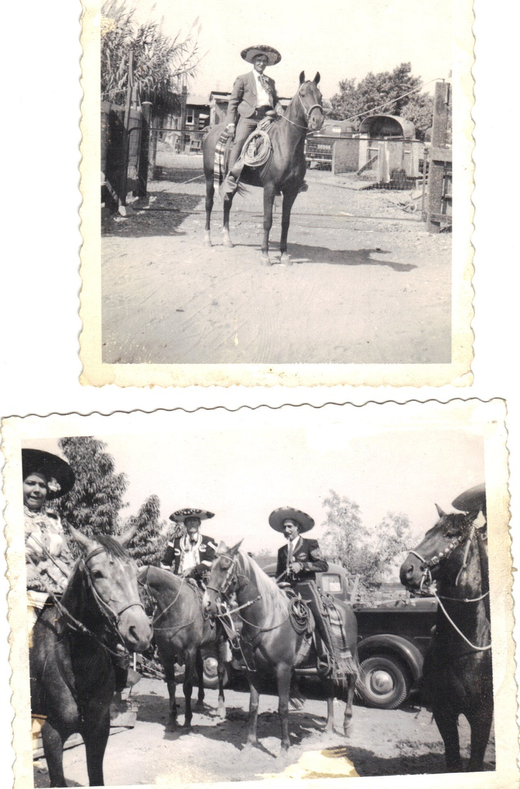 Members of Los Charros, Colton and San Bernardino, California riding group we rode with a few times.