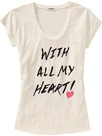 Women's Valentine-Graphic Tees