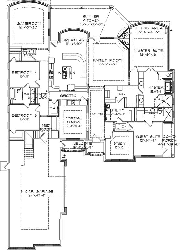 Best 25 castle house plans ideas on pinterest modern for House plans with game room