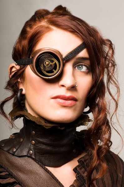 wallpapers steampunk girl eyes - photo #24