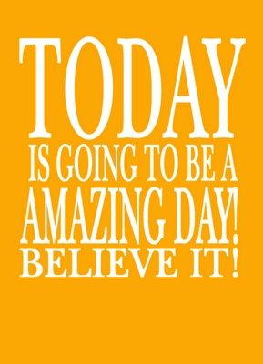 MOGGUHHH!!!! Dit gaat weer zo'n leuke dag worden!!!