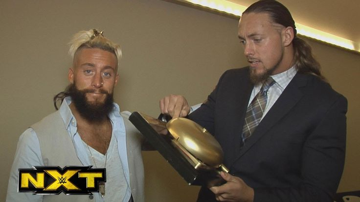 Enzo Amore & Colin Cassady accept the Tag Team of 2015 NXT Year-End Award: January 13, 2016