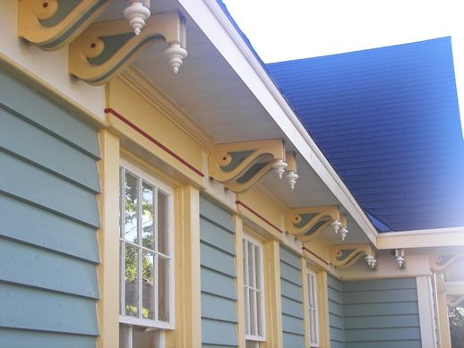Gingerbread Trim for Houses | Mill Street, Creemore Ontario, L0M 1G0 - Phone: (705) 466-6100 Fax ...