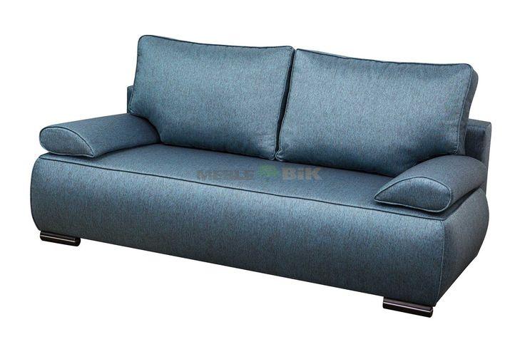 Kanapa rozkładana do salonu Queen z poduszkami - WM-Meble - sklep meblowy Meble BIK