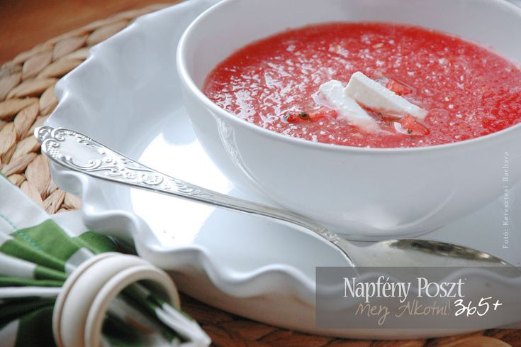 Day 132: Chilled watermelon soup