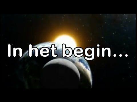 In het begin (met tekst) - bijbelliedje - YouTube