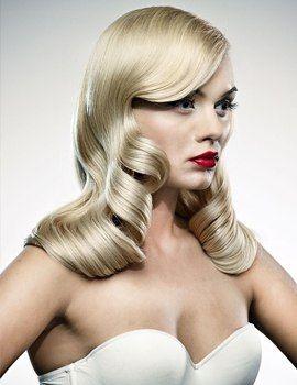Retro hollywood waves #hairstyles #hairstyle #hair #long #short #medium #buns #bun #updo #braids #bang #greek #braided #blond #asian #wedding #style #modern #haircut #bridal #mullet #funky #curly #formal #sedu #bride #beach #celebrity #simple #black #trend #bob