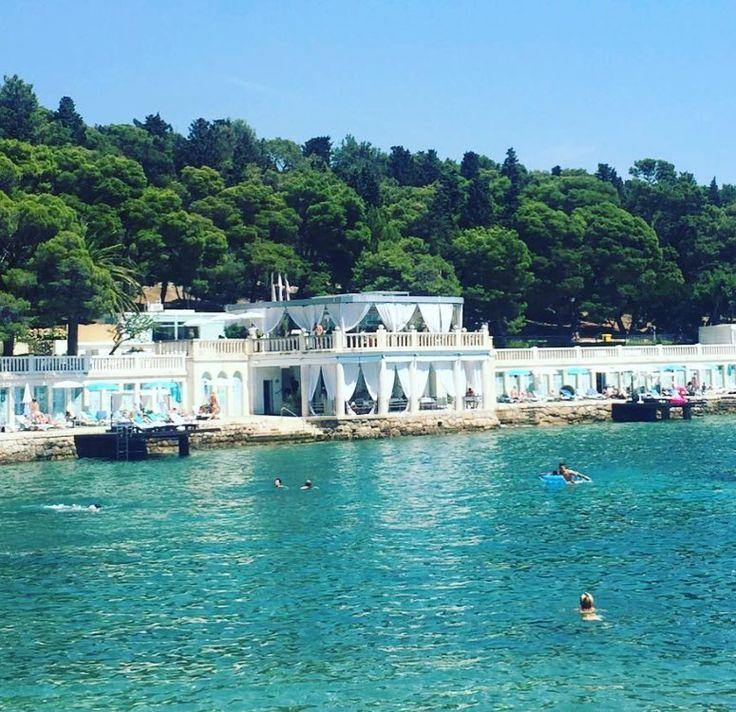 Home for the next few days #hvar #shutterisland #clearblue #inspire #recharge #croatia #blueshutters #exteriorshutters #summer2017