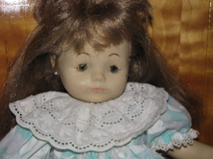 Rare Geli Doll Toddler Girl Muñecas Geli from Mexico HTF Original Dress  Probably 1970's. $15