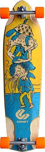 """Get cheap Comet Voodoo Stacked Complete Longboard Skateboard - 10.25"""" x 39"""" - http://kcmquickreport.com/get-cheap-comet-voodoo-stacked-complete-longboard-skateboard-10-25-x-39/"""