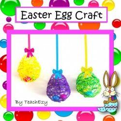 easter egg string craft easter pinterest string crafts crafts