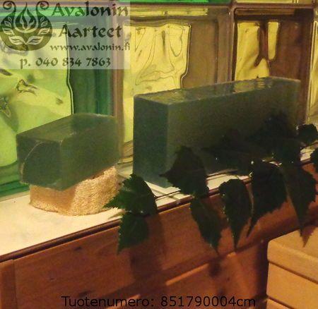 Osmia's handmade Birch glycerine soap / Osmian käsintehty Koivu glyseriinisaippua