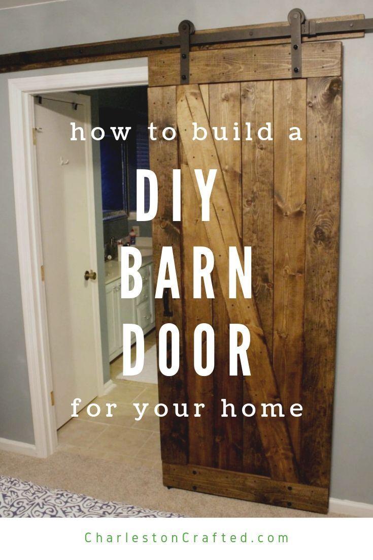 Easiest Cheapest Way To Build A Rustic Barn Door Free Pdf Plans Diy Barn Door Plans Rustic Barn Door Diy Sliding Door