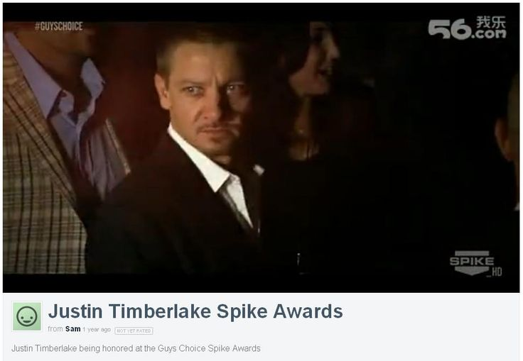 Justin Timberlake Spike Awards