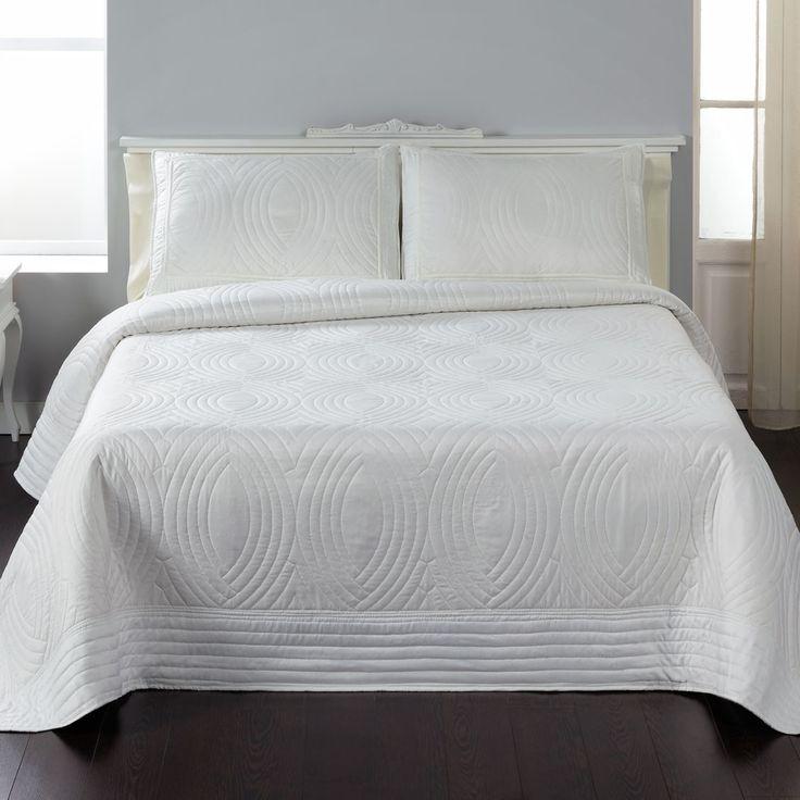 M s de 25 ideas incre bles sobre colchas blancas en pinterest for Medidas colcha cama 135