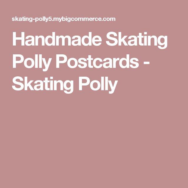 Handmade Skating Polly Postcards - Skating Polly