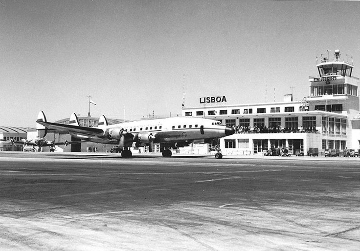 Aeroporto de Lisboa anos 50