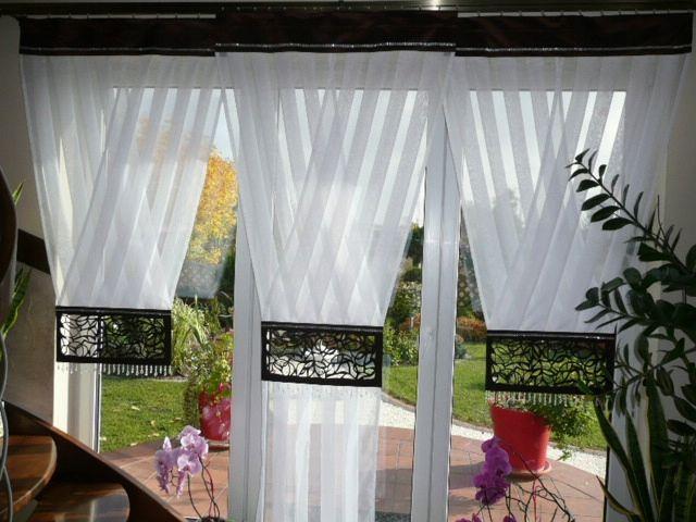 Firany Panele Z Koralami 2x V 1x Y Balkon Kolory Okna W