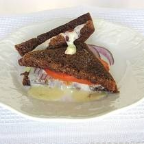 Eastern European Grilled Kashkaval Cheese
