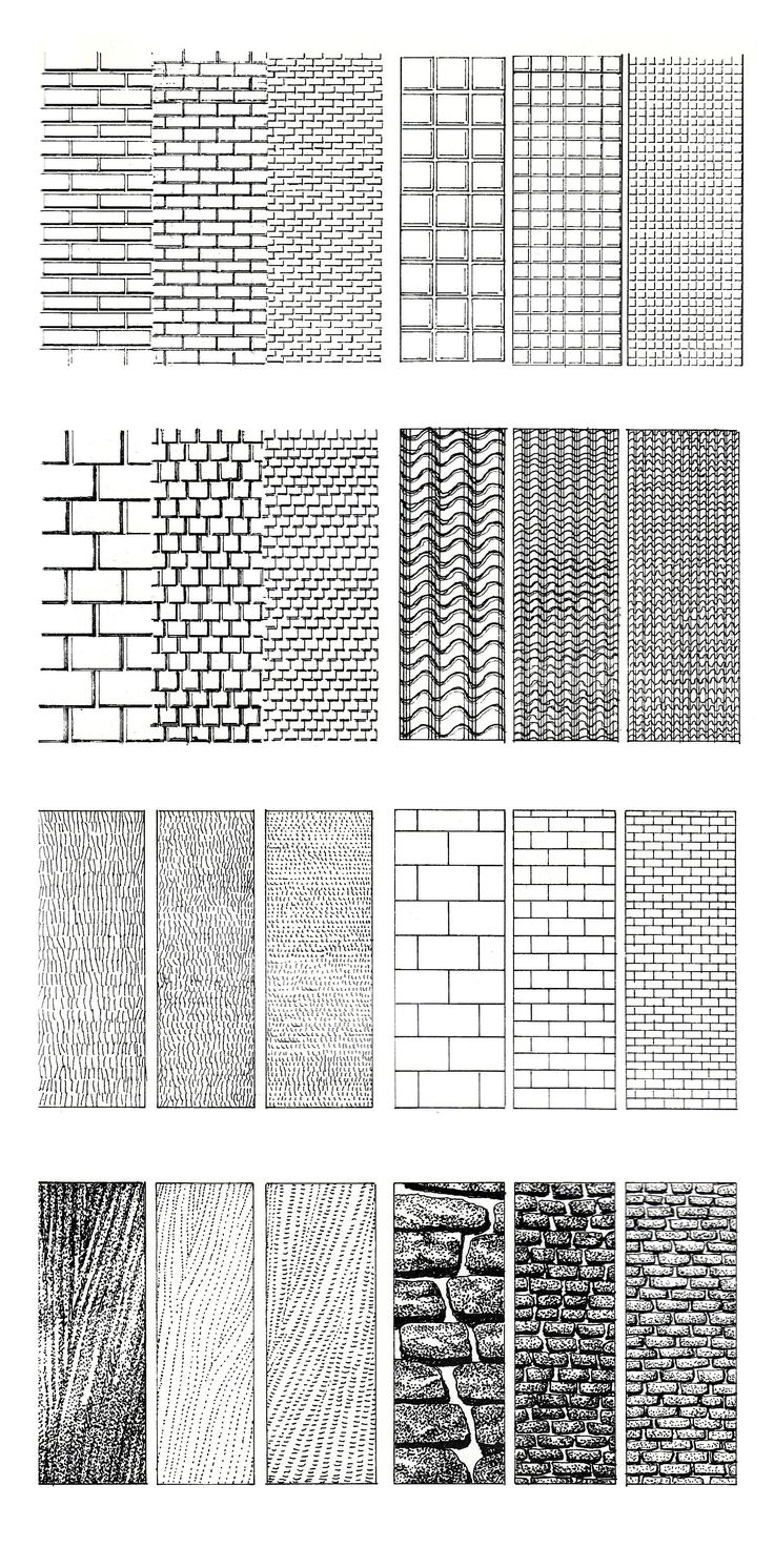 Learning to Illustrate Textures: Techniques for Architects, Designers, and Renders | Design Shifts