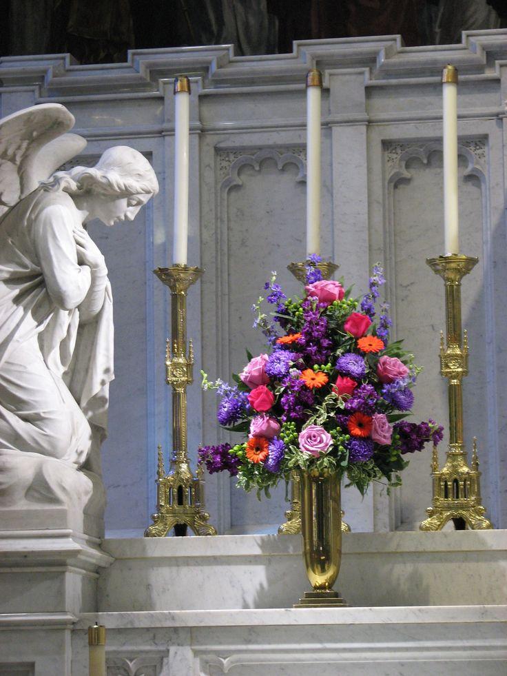 20 Bedste Bryllup Alter blomsterdekorationer billeder på-8139
