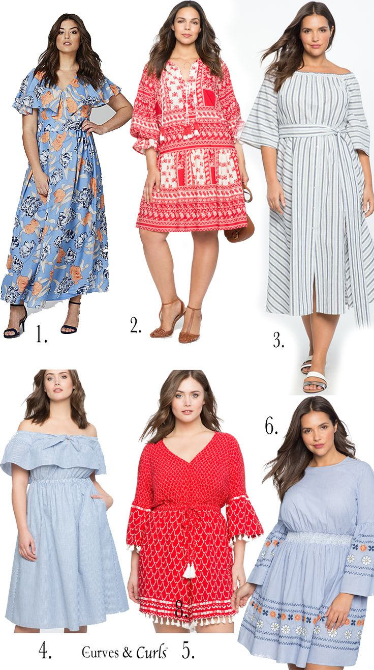Plus Size Resort Wear- Dresses