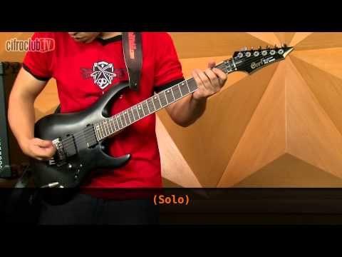 ▶ Enter Sandman - Metallica (aula de guitarra) - YouTube