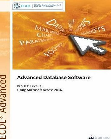 CiA Training Ltd ECDL Advanced Database Software Using Access 2016 (BCS ITQ Level 3) No description (Barcode EAN = 9780857412003). http://www.comparestoreprices.co.uk/december-2016-week-1/cia-training-ltd-ecdl-advanced-database-software-using-access-2016-bcs-itq-level-3-.asp