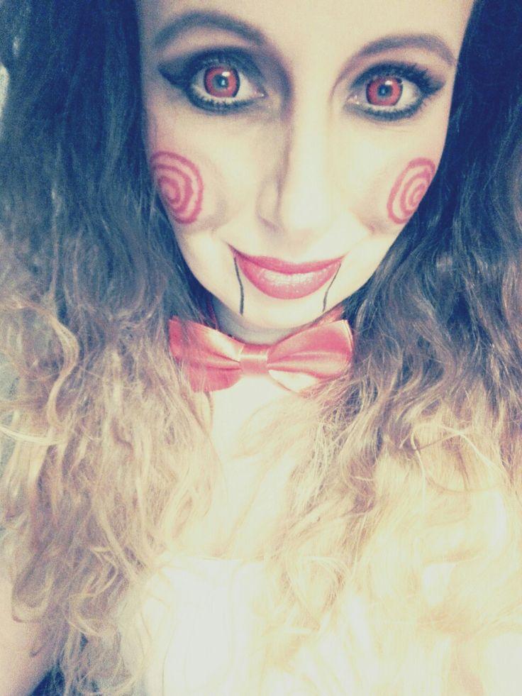 Jigsaw Helloween makeup