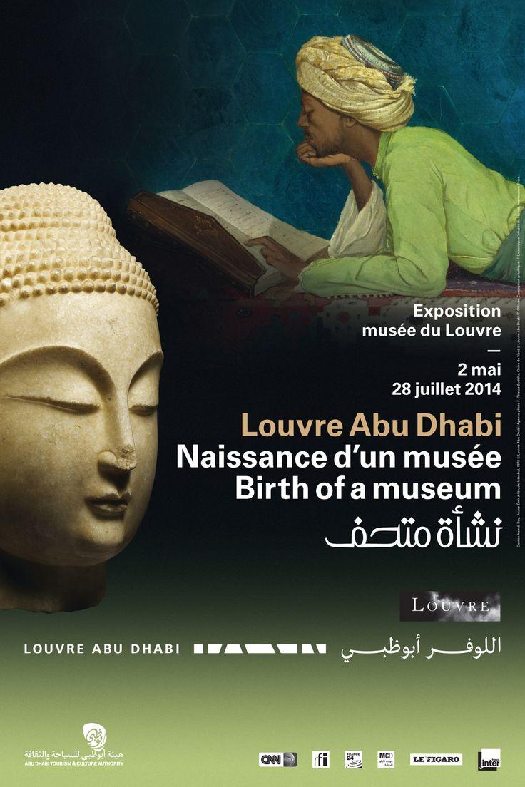 Exposition Naissance d'un musée Louvre Abu Dhabi du 2 Mai 2014 au 28 Juillet 2014