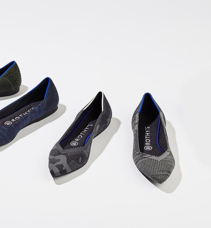 Rothy's - seamless flat shoes for women made from recycled plastic - $125-145