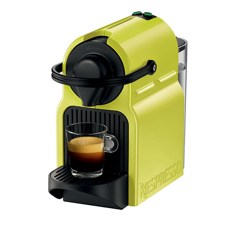 Personal Edge : Nespresso Inissia Lime Yellow | Nespresso Machines ...