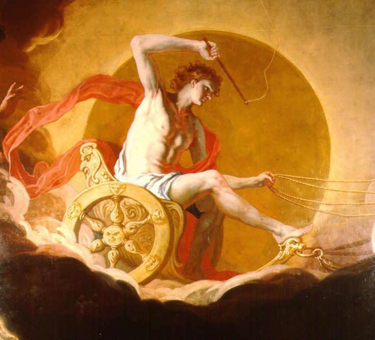 greek myths apollo with his chariot - photo #23