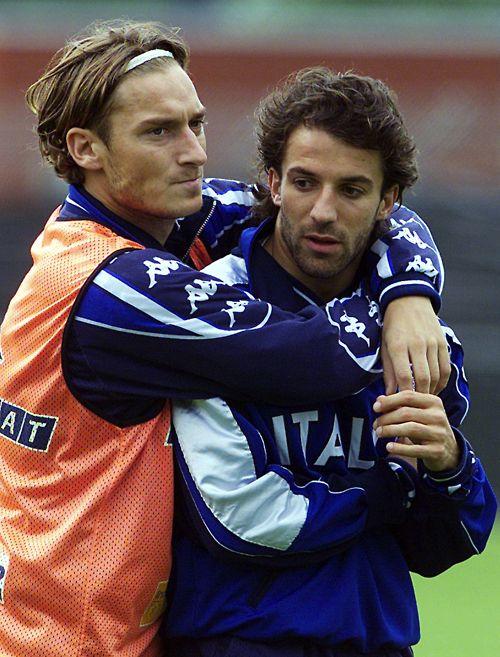 Totti & Del Piero, dos iconos del fútbol