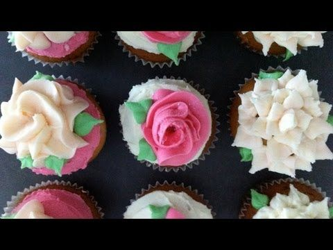 How to decorate cupcakes with plastics bags (no tips)