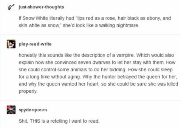 Vampire Snow White retelling