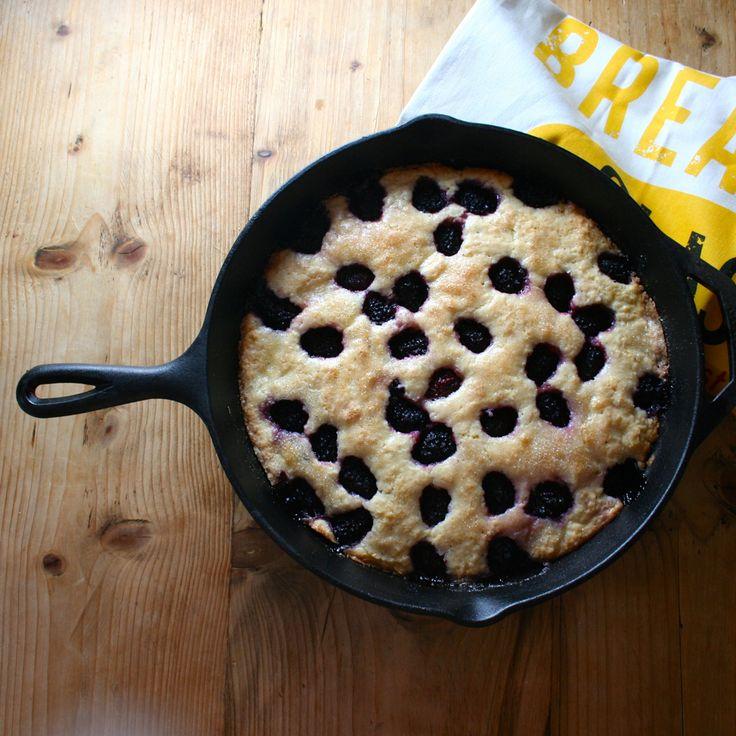 Blackberry Buttermilk Breakfast Cake | Good Morning To Me | Pinterest