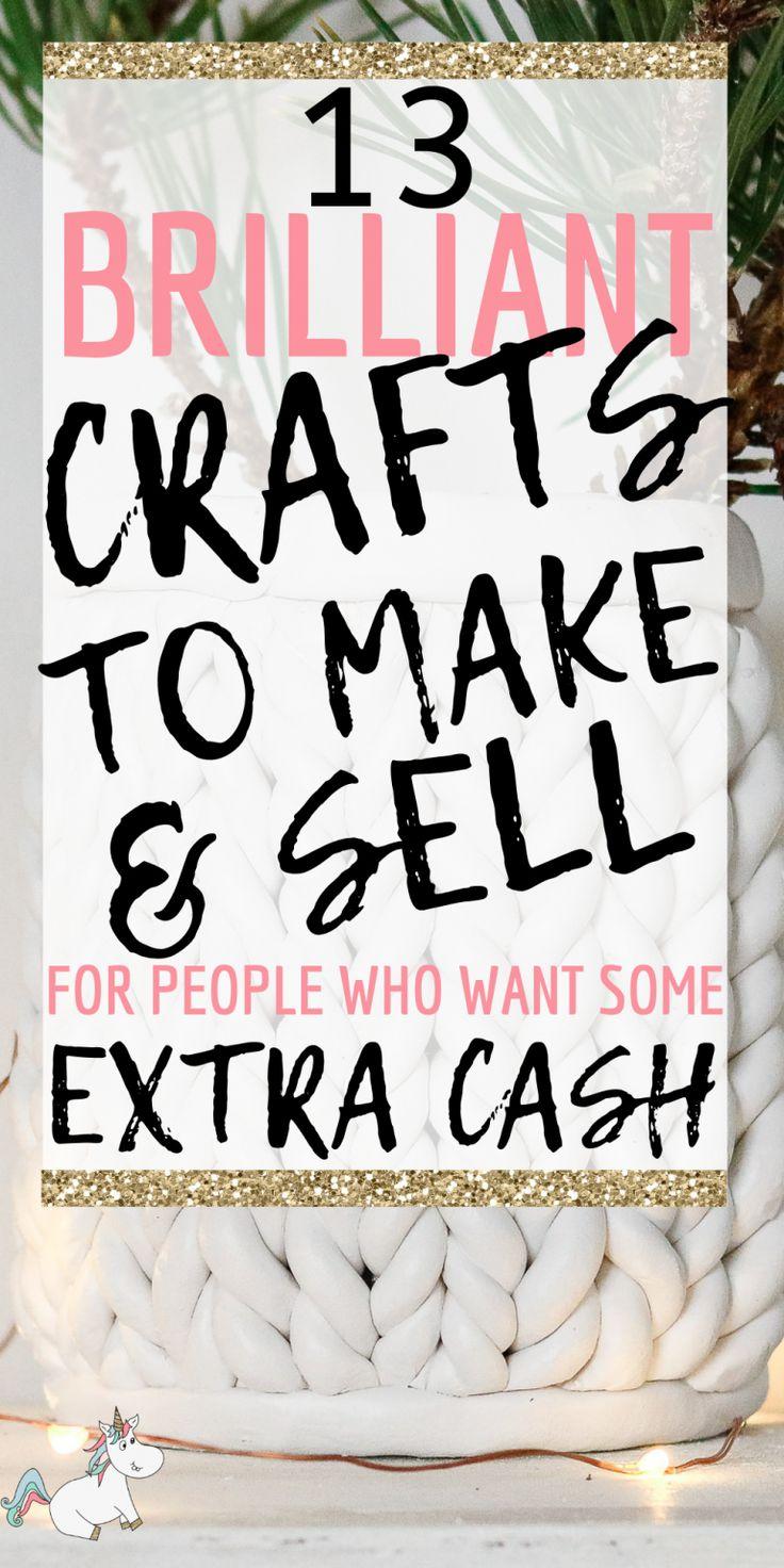 13 Einfache Handwerkskunst, die man 2019 für zusätzliches Geld verdienen und verkaufen kann | Die Mumienfront   – Summa :)