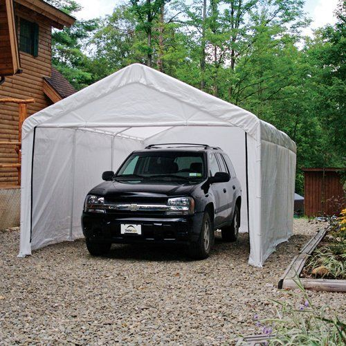 ShelterLogic 12 x 20- Feet Canopy Enclosure Kit, Fits 2- Inch Frame, White by Shelter Logic. $99.93. Pre-fit wall panels go up fast with bungee fasteners. 50+ UPF (Ultraviolet Protection Factor) rating blocks more than 98 percent of UV harmful rays. Top canopy sold separately. Made of triple-layer, rip-stop, woven polyethylene fabric material. Enclosure kit includes back panel, two side walls, and a double-zippered door. Amazon.com                Use your own canopy and this e...