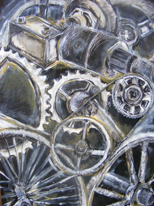 96 best Mechanical forms images on Pinterest Bicycle art, Bike art - best of mechanical blueprint definition