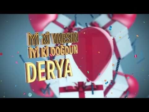 İsme Özel Doğum Günü Videosu - Doğum Günü Şarkıları   Nice Yaşlara