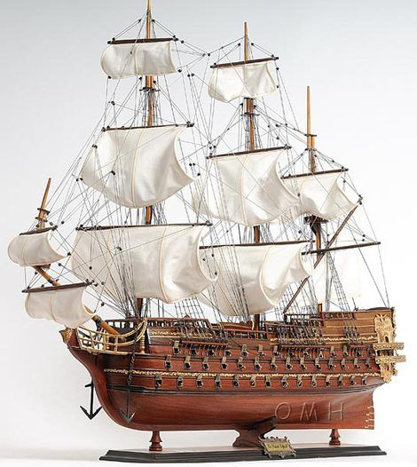 Tall Display Ship Models | Large Scale Model Ships | Wooden Display Model Boats…